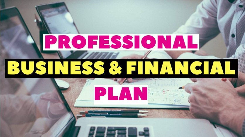Do you need a professional Business/Financial Plan? We Got You!
