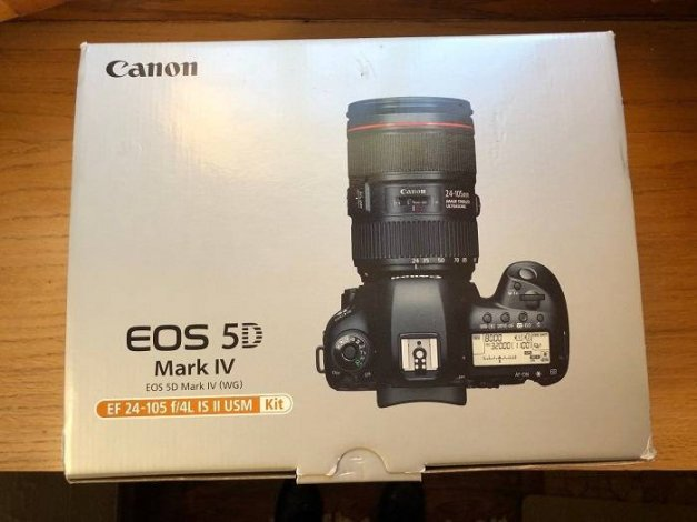 New Never Used Canon EOS 5D Mark 4