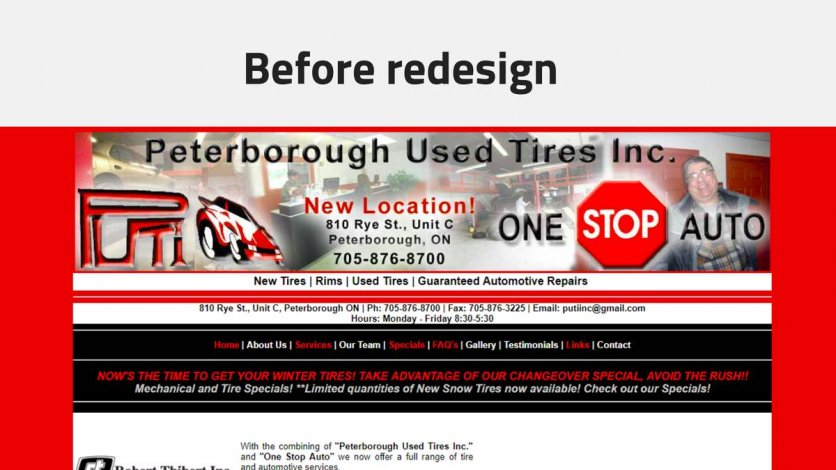 Web Design services In Peterborough - Free Demo Site Offered