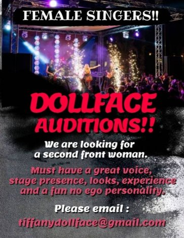 Female Singer Wanted!!