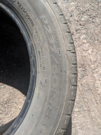 Michelin Tires P235/60R18