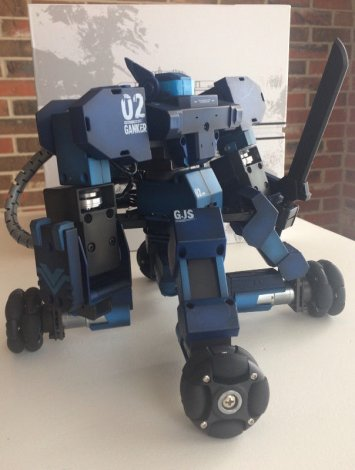 App controlled robot