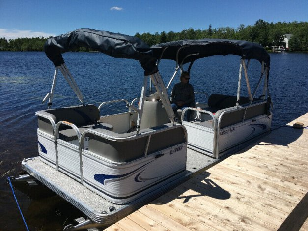 """Compact Pontoon 18Ft, 16Ft and 14Ft """" Boat Show Pricing - NB"""