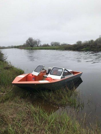 HG aluminum shallow river jet boat