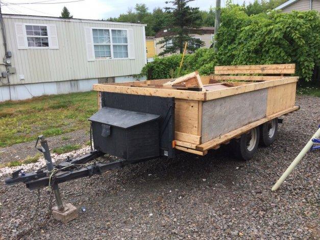 Utility trailer 6x12 duel axel