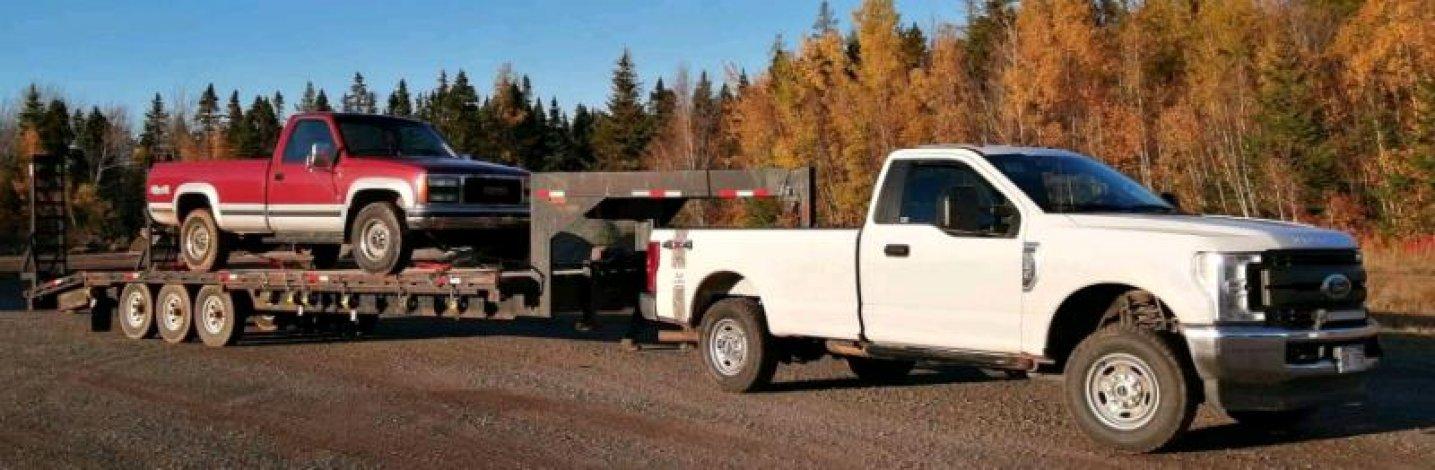 30' gooseneck trailer for sale