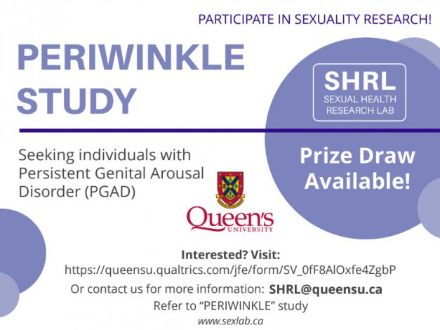 Participants Needed for Periwinkle Study