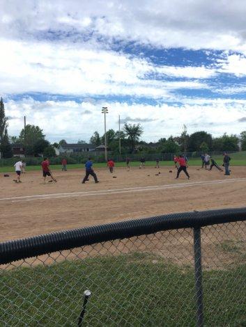 ..Recreational softball tuesday morning ( Mens 55 plus)