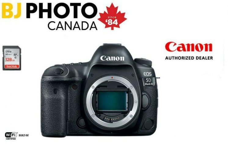 CANON 5D Mark IV Body *** Boxing Week Bundle Upgrade ** | Family Owned. BJ PHOTO LABS