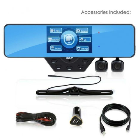 PYLE PLCMDVR54 MULTI CAMERA DASH CAM SYSTEM -- Ideal for Making HD Youtube Videos of your travel adventures !!