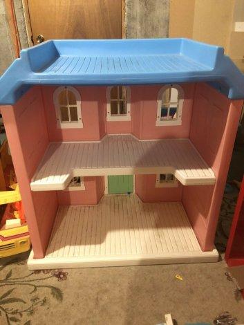 Maison poupée/barbie plastique