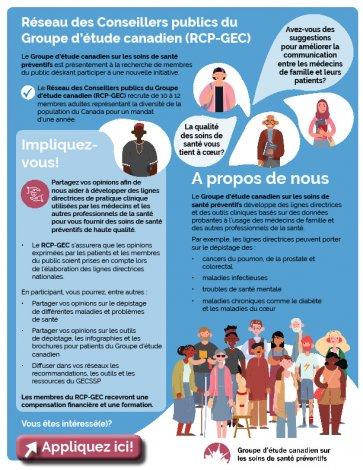 Le Groupe d'étude canadien sollicite votre opinion!