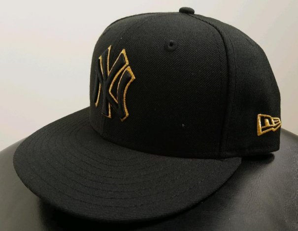 NewEra MLB New York Yankees 7 1/4 59FIFTY fitted black/gold