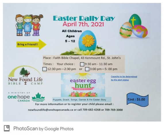 Easter Rally Day