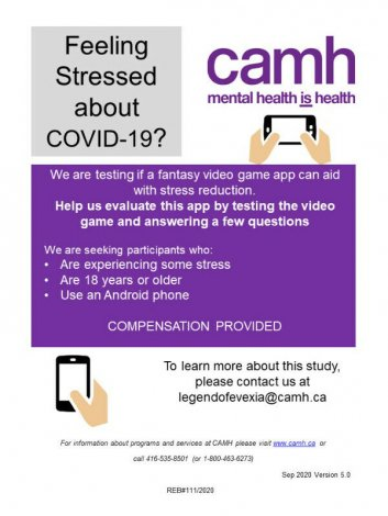 Seeking participants to test an app designed to reduce stress.