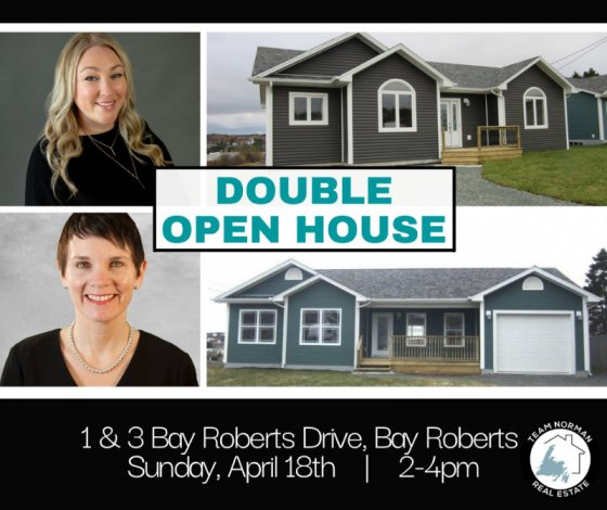 **DOUBLE OPEN HOUSE WITH TEAM NORMAN**