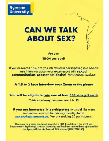Seeking participants for sexual desire and communication study
