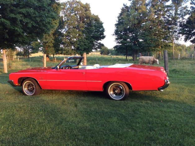 For Sale-1972 BUICK LESABRE CUSTOM CONVERTIBLE