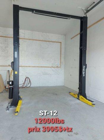 ST-16 16000Lbs Lift pont elevateur Hoist Compresseur 2021