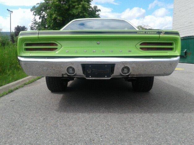 1970 PLYMOUTH 572 HEMI ROAD RUNNER