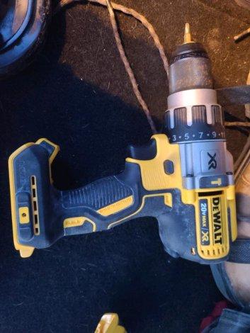 Dewalt newest hammer drill new